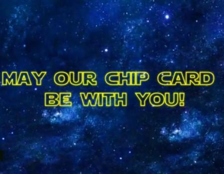 Hologram Chip Card