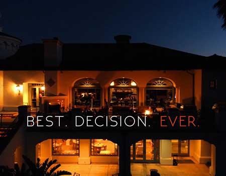Best. Decision. Ever.